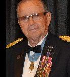 JFK Memorial Medal awarded to Major General Patrick Brady.