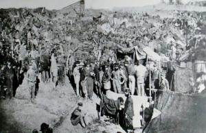 Andersonville Prison(Photo Source: Anderson National Historic Site)