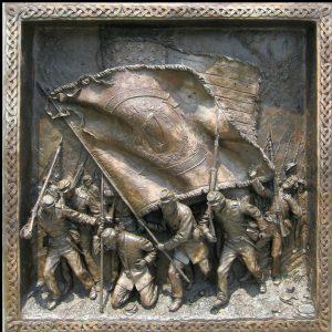Relief of the Irish Brigade Monument