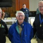 WWII vet awarded AOH pin