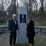 Recent Recipient Visits AOH Monument at the Medal of Honor Grove