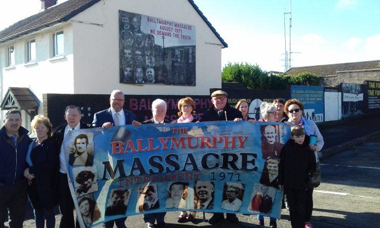 American AOH Meet Ballymurphy Families