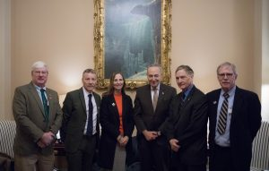 Senator Schumer's meeting with Ancient Order of Hibernians, Freedom For All Ireland and Carmel Quinn, sister of Ballymurphy massacre victim.