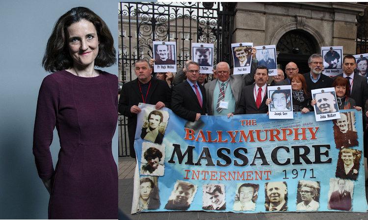 Hypocrisy of Former Northern Ireland Secretary Theresa Villiers