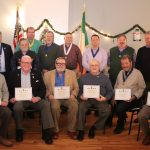 AOH Westchester Division 18 Peekskill Awards its Veterans