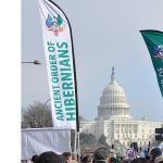 AOH Joins Pro-Life March In Washington