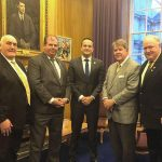 National Board Officers Meet with Irish Leaders