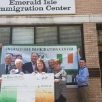 Hibernians helped Tara Circle and the Emerald Isle Immigration Center Get Their Start